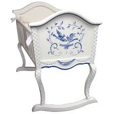 painted baby furniture. Beautiful! Awfully Pricey! AFK Cradle Bluebird AFK105 · BluebirdsKids FurniturePainted Baby FurniturePaint FurnitureDecoupage Painted Furniture