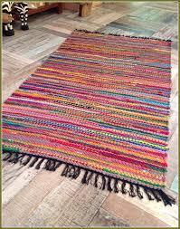 cotton rag rugs washable home design ideas