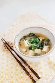 anese miso soup is served in anese pottery bowl and chopsticks