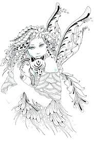 free printable fairy coloring pages for adults. Contemporary Fairy Free Fairy Coloring Pages For Adults Printable  Adult  E