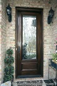 full glass entry doors wood and glass front door full glass wood entry doors
