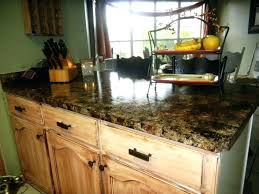 painting countertops with rustoleum black painted