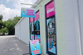 tru blu dog wash opened up its north american headquarters in wilmington this month located