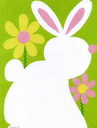 easter stationery stationery notecards letterhead stationery papers easter bunny
