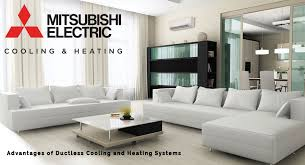 mitsubishi heating and cooling. Fine And Mitsubishi Ductless Heat Pumps U2013 Flexible Solutions For Every Home For Heating And Cooling C