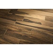 style selections brazilian pecan natural glazed porcelain indoor outdoor floor tile mon 6 in x 36 in actual 5 75 in x 35 75 in at lowes