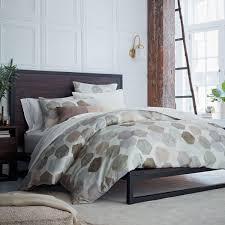 Organic Geo Sateen Quilt Cover + Pillowcases | west elm AU & Organic Geo Sateen Quilt Cover + Pillowcases Adamdwight.com