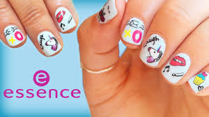 Easy <b>Nail Art</b>!!! <b>essence</b> stickers - Drugstore Brand - YouTube