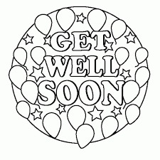 Small Picture The Awesome Get Well Soon Coloring Pages intended to Inspire to