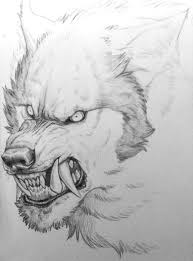 werewolf face drawing. Contemporary Drawing Wuff Face By ManicShadow On DeviantART Throughout Werewolf Face Drawing