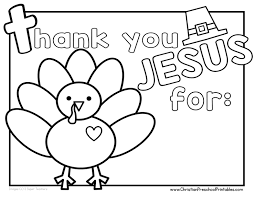 Thanksgiving Bible Coloring Pages