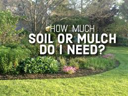 Mulch Calculator Chart How Much Soil Or Mulch Do You Need
