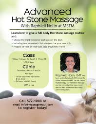 past workshops maui school of therapeutic massage raphiell nolin