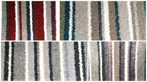 NOBLE COLLECTION STRIPED CARPET GREAT QUALITY SAXONY RED BROWN GREY  LAVENDER 4M