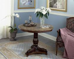 Image of: Entryway Round Table Ceramic