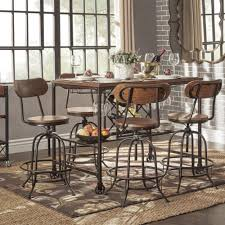 industrial counter height table. Pleasurable Design Ideas Industrial Counter Height Dining Table Bold In Plan 17 H