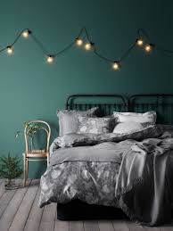 Green And Grey Bedroom Mint Watery Blue Green Walls Grey Accents Comfy Bedi Like The