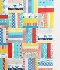 Scrappy Strips Quilt Tutorial | Cluck Cluck Sew & Scrappy Strips Quilt Tutorial Adamdwight.com