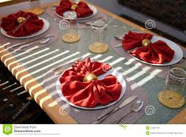 Setting A Dinner Table Fancy Dinner Table Setting Stock Images Image 12930104
