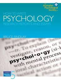 how to write psychology research reports and essays by bruce findlay 6987823