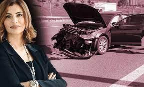 Ünlü sunucu Hande Fırat otoyolda ölümden döndü! - Magazin Haberleri