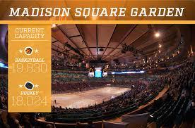 madison square garden cur capacity