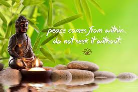 Tallenge Gautam Buddha Inspirational Quote Peace Comes From Within Do Not Seek It Without Poster Paper 12x17 Inches