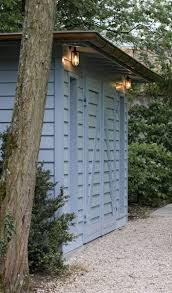 garden shed lighting. painted garden shed lighting 2
