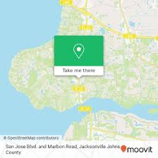 how to get to san jose blvd and marbon