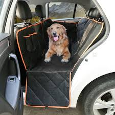 details about pet dog car seat cover hammock pad back rear full protector mat waterproof new