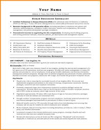 12 Human Resource Generalist Resume Write Memorandum