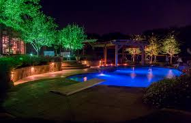 frisco landscape lighting dallas tx
