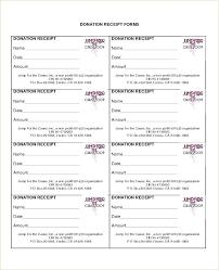 Printable Donation Form Template Charitable Donation Form Template Doc Printable Word