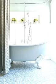 claw foot bathtub shower tub shower curtain claw foot tubs with bathroom traditional baseboards board and