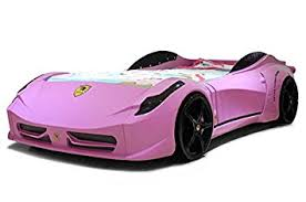 Amazon F1 SPYDER RACE CAR BED PINK Kitchen & Dining