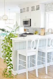 decorating ideas for kitchen. spring decorating ideas - coastal kitchen for