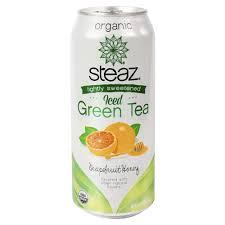 Steaz Lightly Sweetened Green Tea Amazon Com Steaz Lightly Sweetened Iced Green Tea