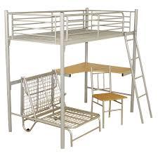 bedroom metal twin loft frame svärta silver color queen size svarta australia for full with