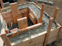 Making Cement Forms How To Make A Concrete Fire Feature How Tos Diy