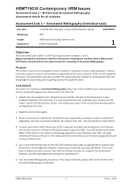 Hrmt 19016 Assessment 1 Annotated Bibliography T1 2019 Mgmt13 305