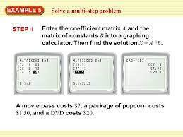 example 5 solve a multi step problem step 4