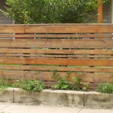 horizontal wood slat fence. Contemporary Horizontal Horizontal Stained Wood Planks Fence For Slat N