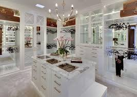 walk in closet design for women. Furniture:Amazing White Huge Walk In Closet Design For Women With Marble Top Island Over