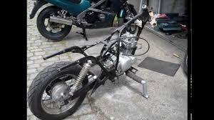 suzuki gz 125 ccm marauder dragstyl custom bobber chopper build