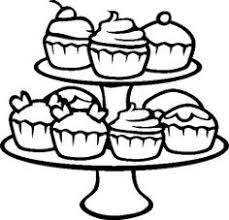 Small Picture Cupcakes Coloring Pages vrityskuvat Pinterest White cupcakes