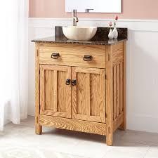 30 Bathroom Cabinet 30 Narrow Depth Mission Hardwood Vessel Sink Vanity Bathroom
