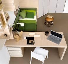 Kids Room Design: Purple White Kids Bedroom - Desks