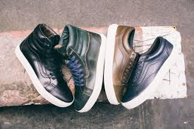 vans have come together with the horween leather company to collaborate on a series of classics wrapping the sk8 hi and old skool in a range of horween s