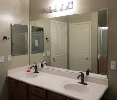 Frameless Mirror For Bathroom Frameless Bathroom Mirrors Ideas 2017 And Large Mirror Pictures