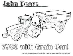 Farm Tractor Printable Coloring Pages To Print Page Extraordinary